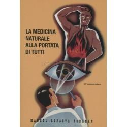 Libro La medicina naturale alla portata di tutti di M. Lezaeta Acharan
