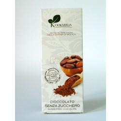 Cioccolato senza zucchero con carrube 100g