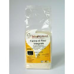 Farina di riso integrale senza glutine 500g