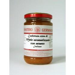Confettura di Mele aromatizzate con arance 330g