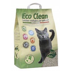 Lettiera ecologica Eco Clean 20