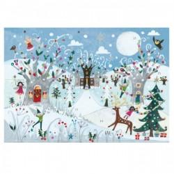 Calendario dell'Avvento - Foresta invernale