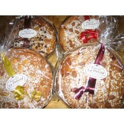 Panettone grano saraceno con cioccolato fondente (disponibile anche VEGAN) 500g