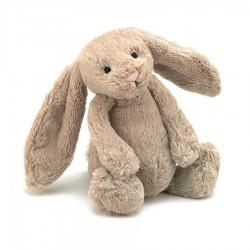 Coniglietto peluche beige 18cm