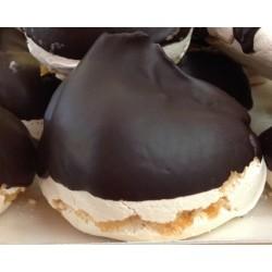 Meringa con cioccolato...
